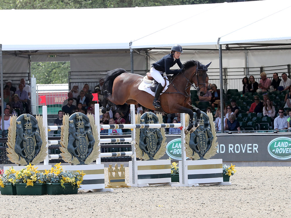 Doonaveeragh Emma A & B Jumping