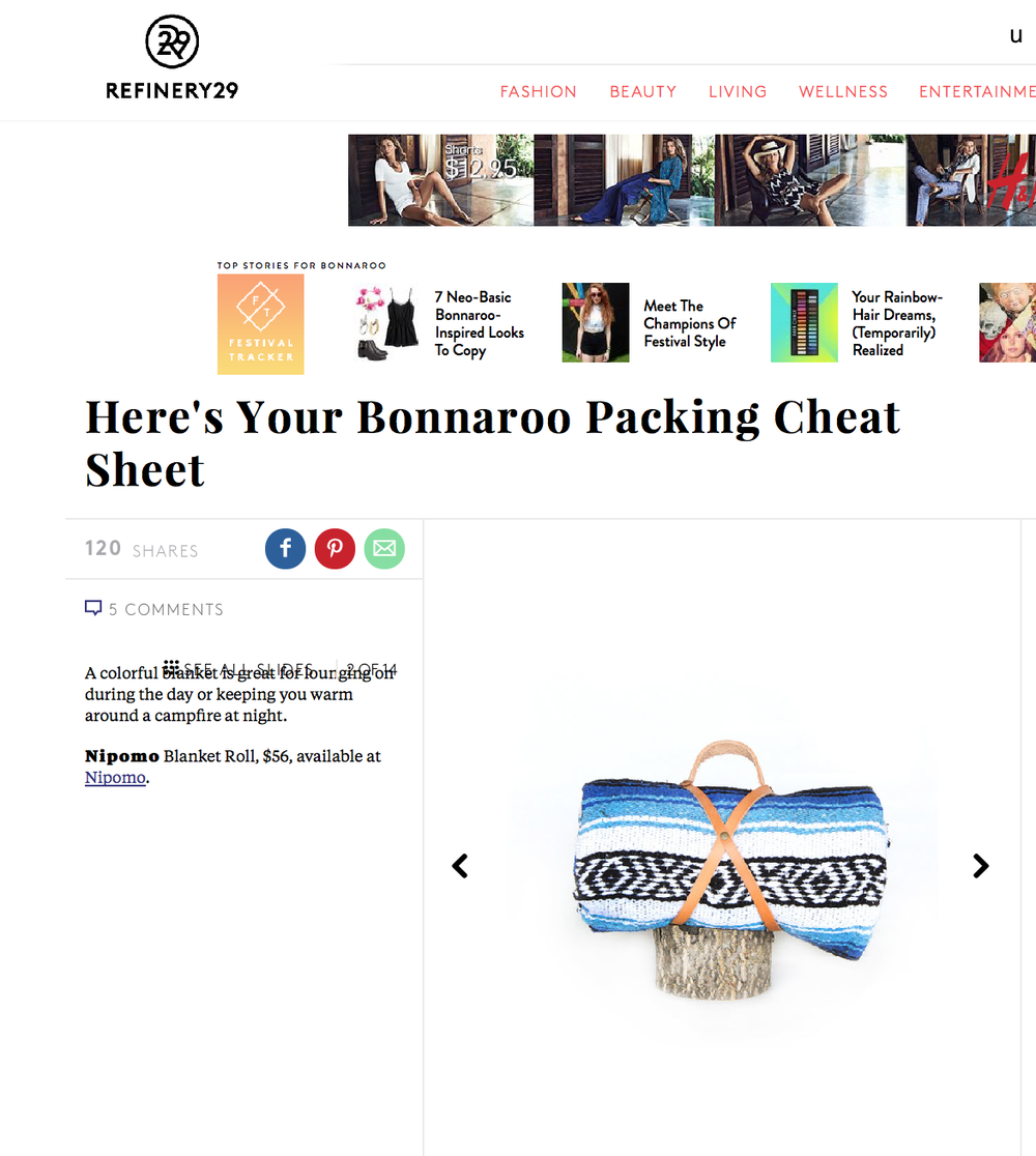 http://www.refinery29.com/camping-essentials#slide-2