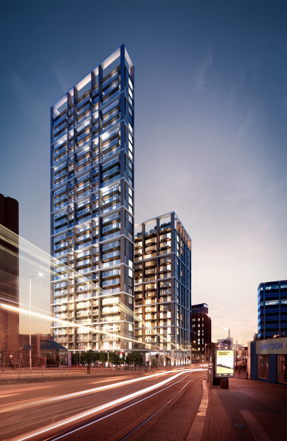Marketing CGI of 101 George Street