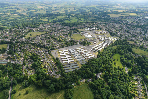 Foxhill-Mulberry Park-Aerial