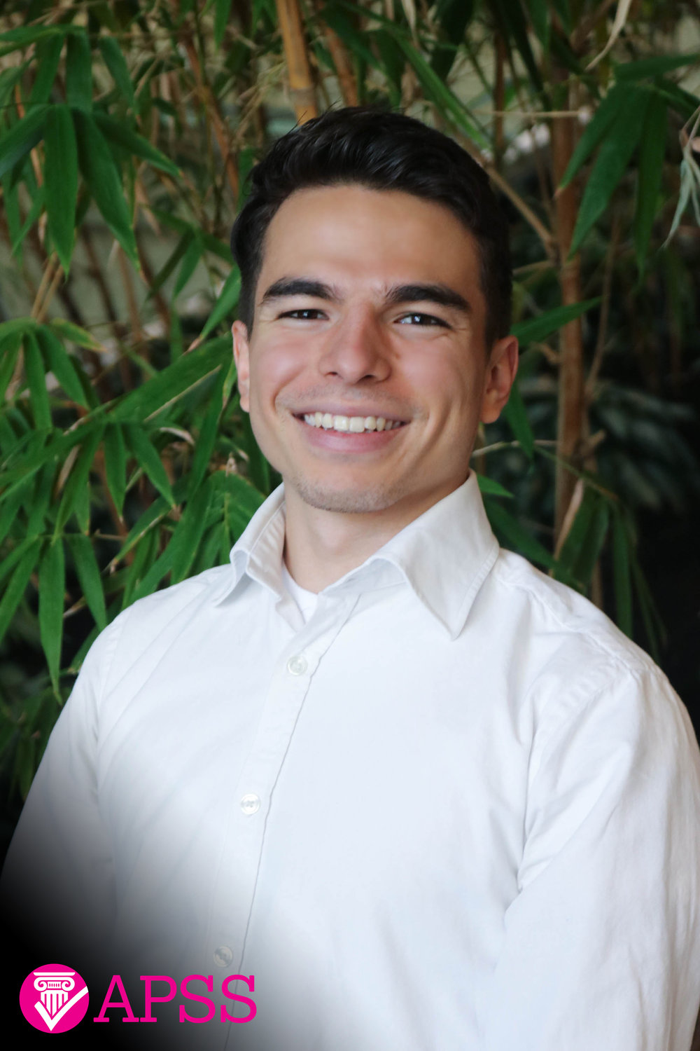 Daniel is a fourth year student from Costa Rica and is double-majoring in Political Science and Peace, Conflict, and Justice Studies (PCJ) with a minor in History. His areas of study include international relations, ethnic and cultural conflict, geopolitics, diplomacy, and global security. This is Daniel's second year with the APSS and is excited to provide the financial support to make a positive impact on students' lives through social and academic events. Daniel enjoys watching political and legal dramas, reading  The Economist , playing soccer, and road running.
