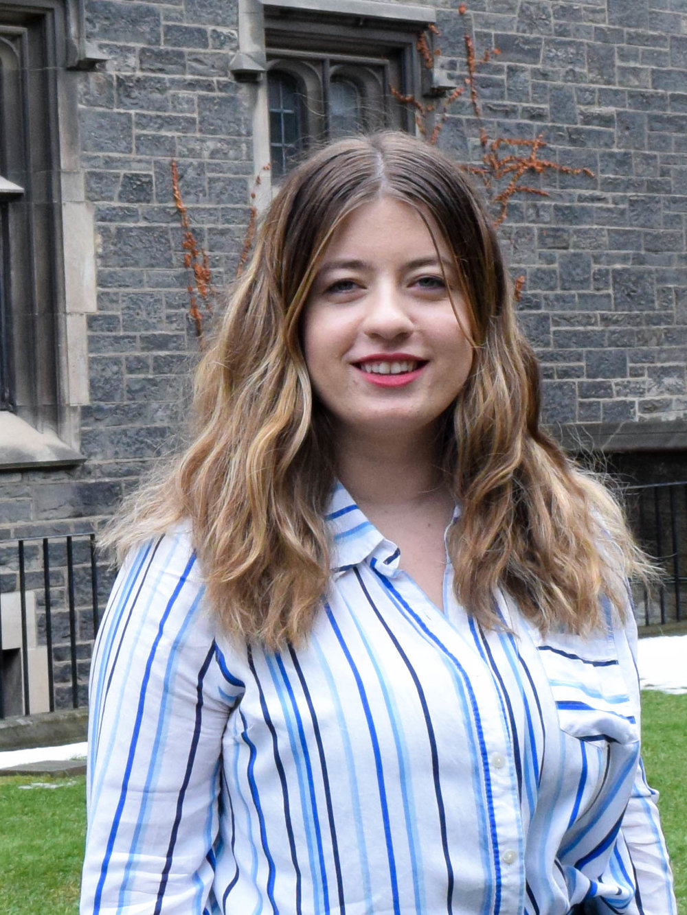 Serena Ceco is in her fourth year at Trinity College, pursuing a double major in Political Science and International Relations. Her research interests include international security and global governance. Serena is also President of Voice of Women for Peace at the University of Toronto. She is thrilled for an exciting year ahead with the Association of Political Science Students.