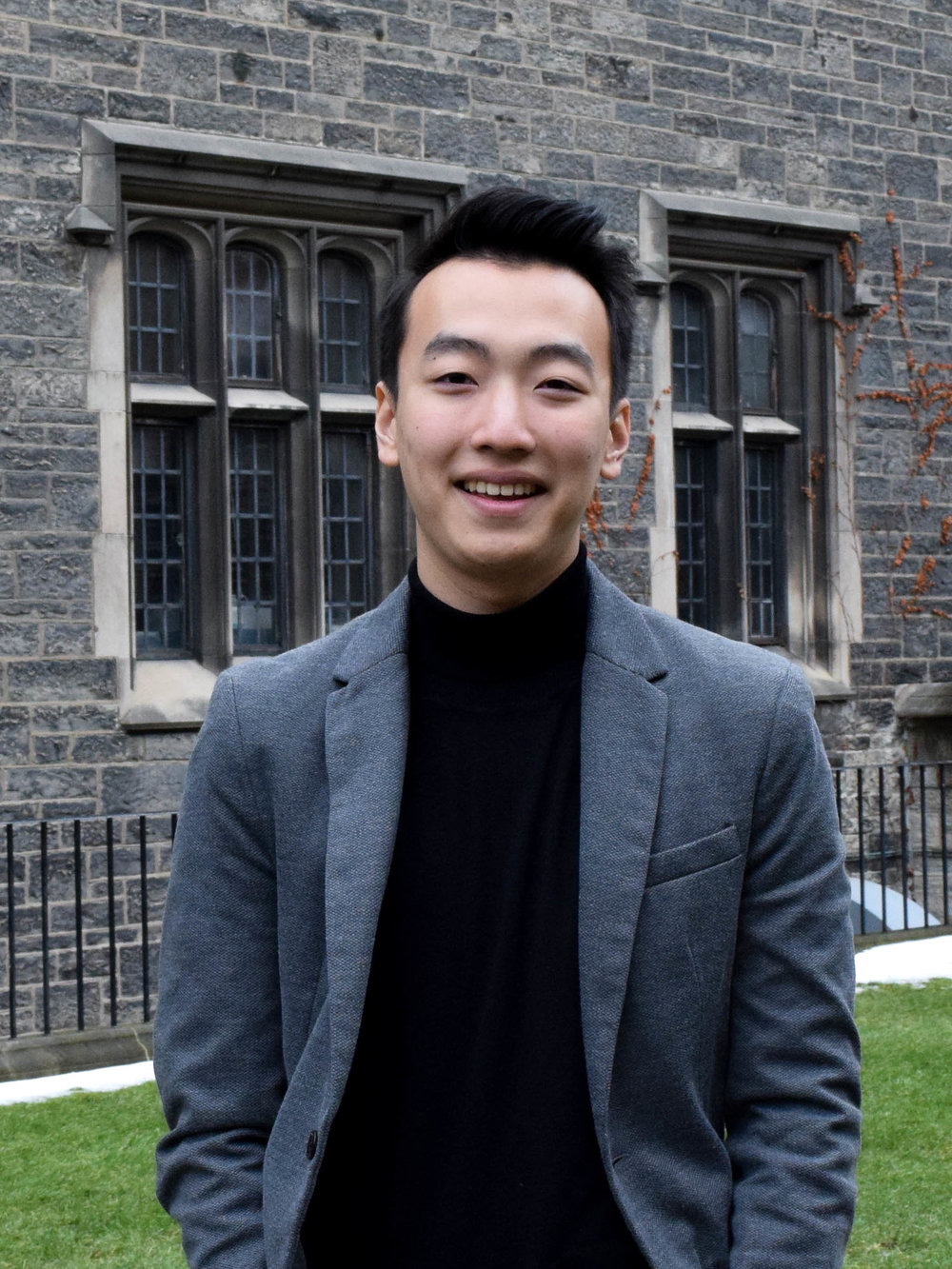 "Sean Chung is a third year student at Victoria College in the University of Toronto, specializing in Political Science, with a particular interest in North Korea, especially as it pertains to the plight of refugees, human rights, and information technology and exchange. He is a research assistant at the York Centre for Asian Research (YCAR), examining cultural identity displacement in North Korean refugees during the resettlement process. He serves as the Associate Director for Research at HanVoice, Canada's leading non-profit on North Korean human rights and refugees, in addition to serving as the President of HanVoice UToronto, the organization's flagship chapter at the University of Toronto."" [Only if the tone is light - ""In his (infrequent) free time, Sean enjoys avocado brunch, coffee from overpriced independent coffeeshops, and U.S. politics -- in that order."
