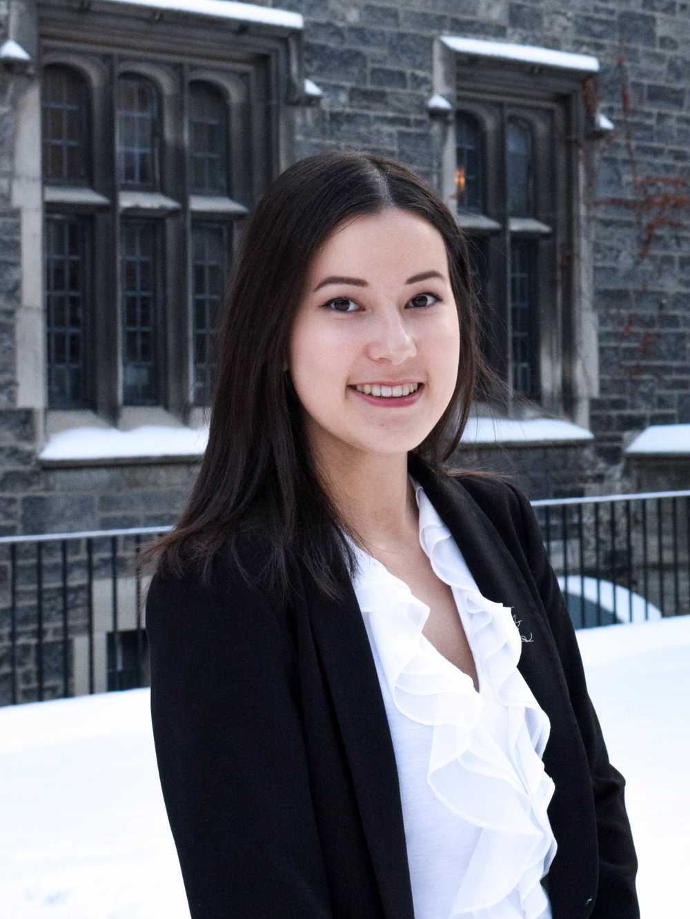 Emily Chu is an enthusiastic second-year student studying Political Science, International Relations, and American Studies. After previously serving as a First-Year Representative, she now acts as the Associate Vice-President for the APSS. Emily is deeply interested in the fields covered by politics, particularly Canadian-American Relations, Human Rights, and Development. Furthermore, she focuses on the unique relationship between human rights violations and international law, and responses to said violations by Canada and the US. Along with the APSS, she has been involved in the Pre-Law Society, the G20 Research Group, UTMUN, and the UofT Women in House program. She is excited to continue the APSS' engagement with the UofT community, and hopes to bring the organization to an even higher level this year.