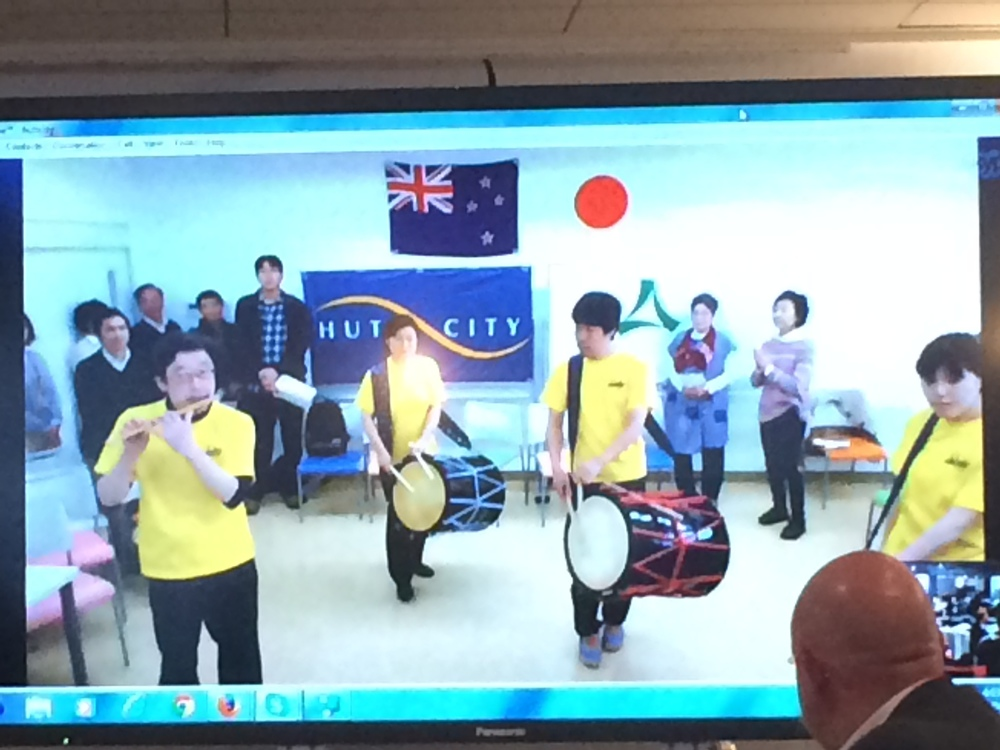 10. Skype performance with Hutt Sister City Minoh.JPG