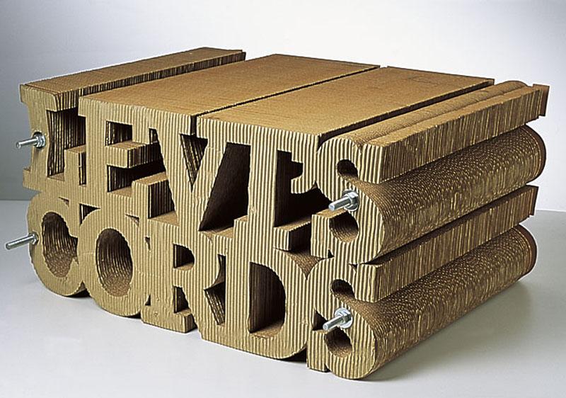 Levis Cords window display (1993)