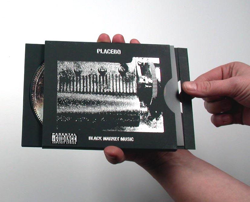 Placebo - Black Market Music Limited edition Burgopak (2000)