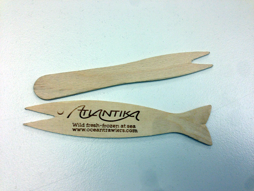 Custom chip forks look like this