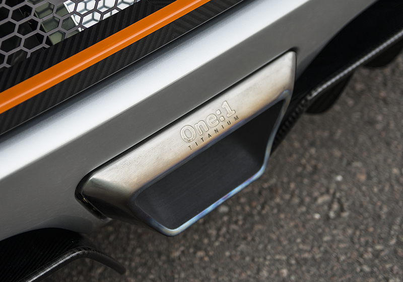 The Koenigsegg Agera ONE:1 features a 3D printed titanium exhaust pipe tip — not a world-changing product in its own right but indicative of a world-transforming technology