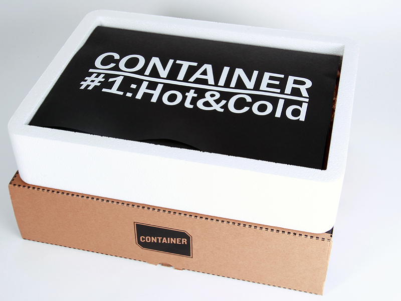 The first issue: CONTAINER #1:Hot&Cold