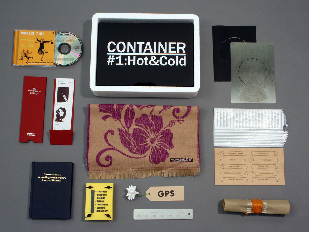 CONTAINER #1:Hot&Cold box and contents (excluding corrugated outer)