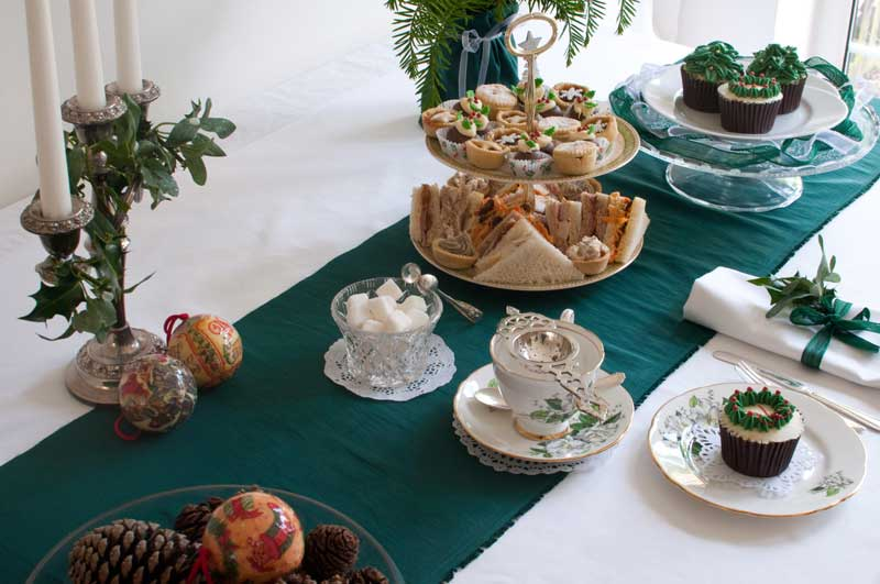 Christmas vintage tea party by The Chipping Norton Tea Set