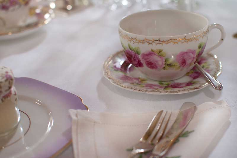 Wedding vintage afternoon tea by The Chipping Norton Tea Set