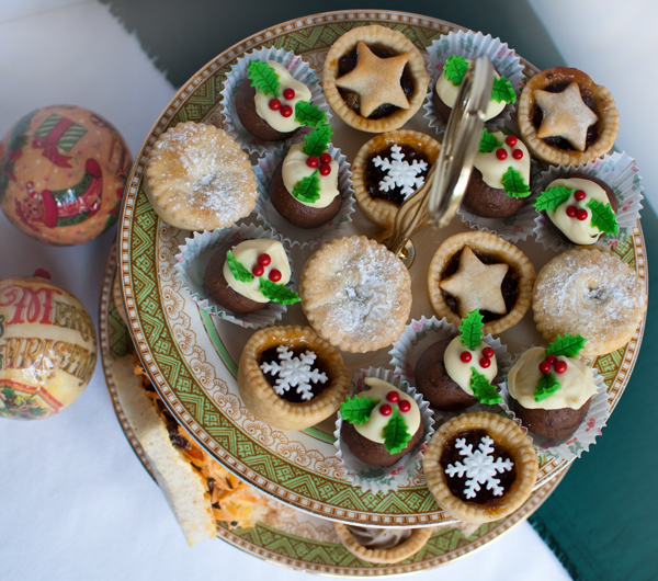 Christmas sweet selection by The Chipping Norton Tea Set