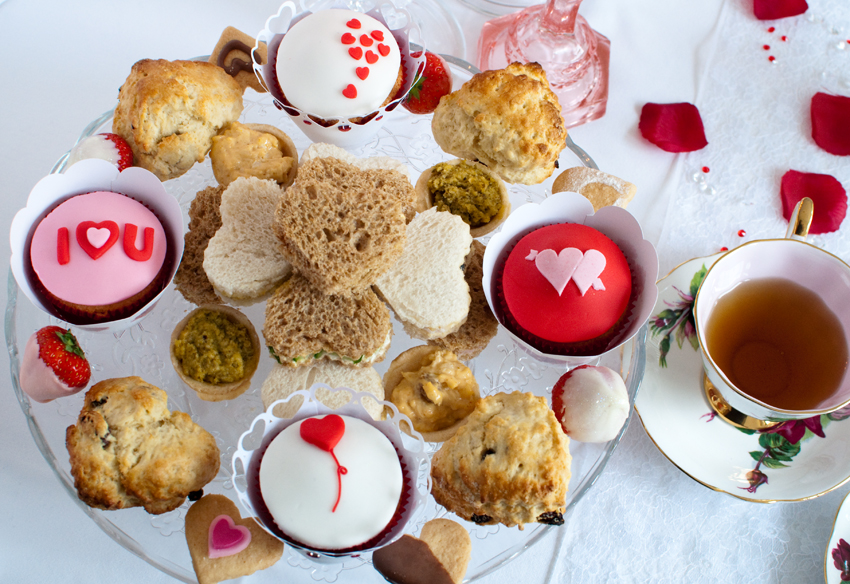 Valentine afternoon tea by The Chipping Norton Tea Set