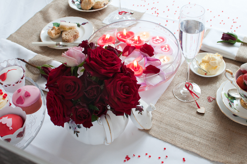 Valentine tea party by The Chipping Norton Tea Set