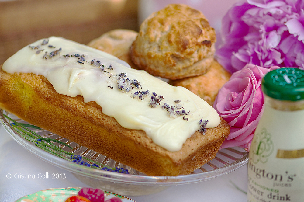 Lavender & lemon loaf by The Chipping Norton Tea Set