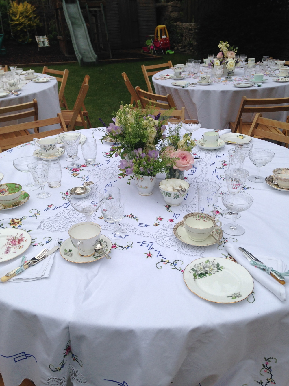 The perfect setting for a family Christening party
