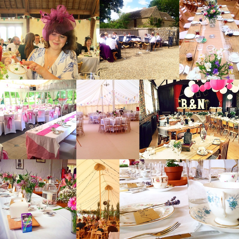 Just some of the lovely places from this summers weddings
