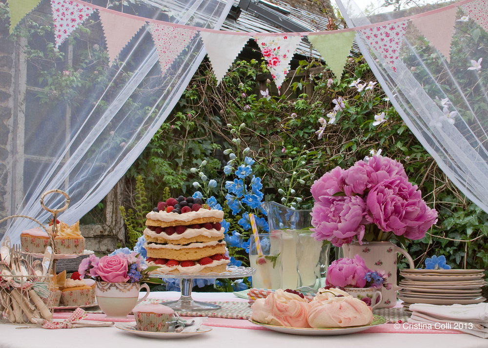 A beautiful dessert table. Photo by Cristina Colli