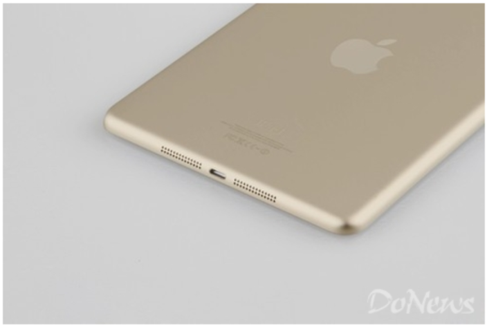iPad Mini 2 in Gold (back)