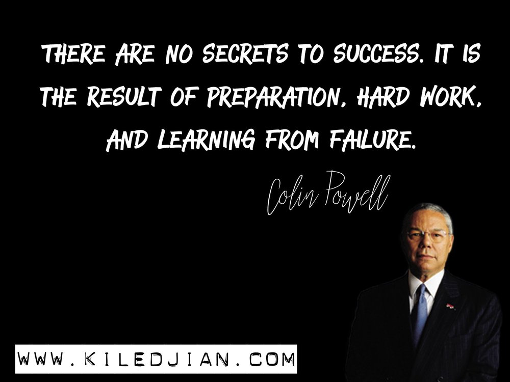 Colin Powell Quote About Success Insights For Success