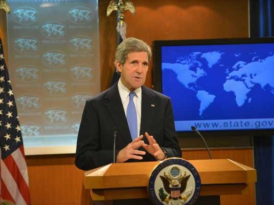 U.S. Secretary of State John Kerry releases the 2012 International Religious Freedom Report