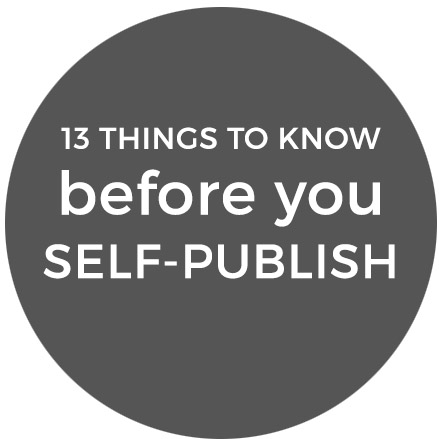 13 things to know before you self publish