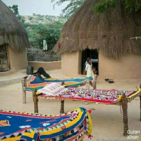 Ralli quilts from Sindh