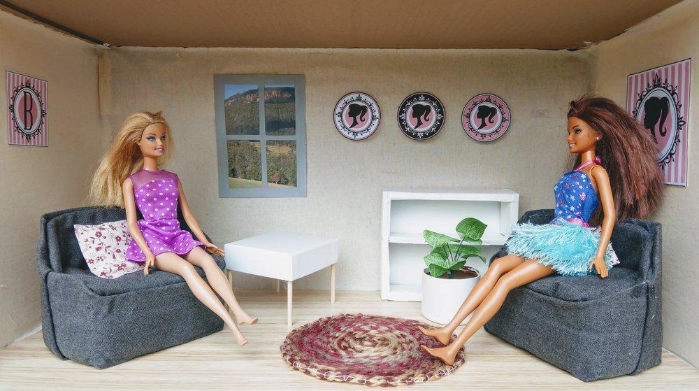 DIY Barbie dolls house
