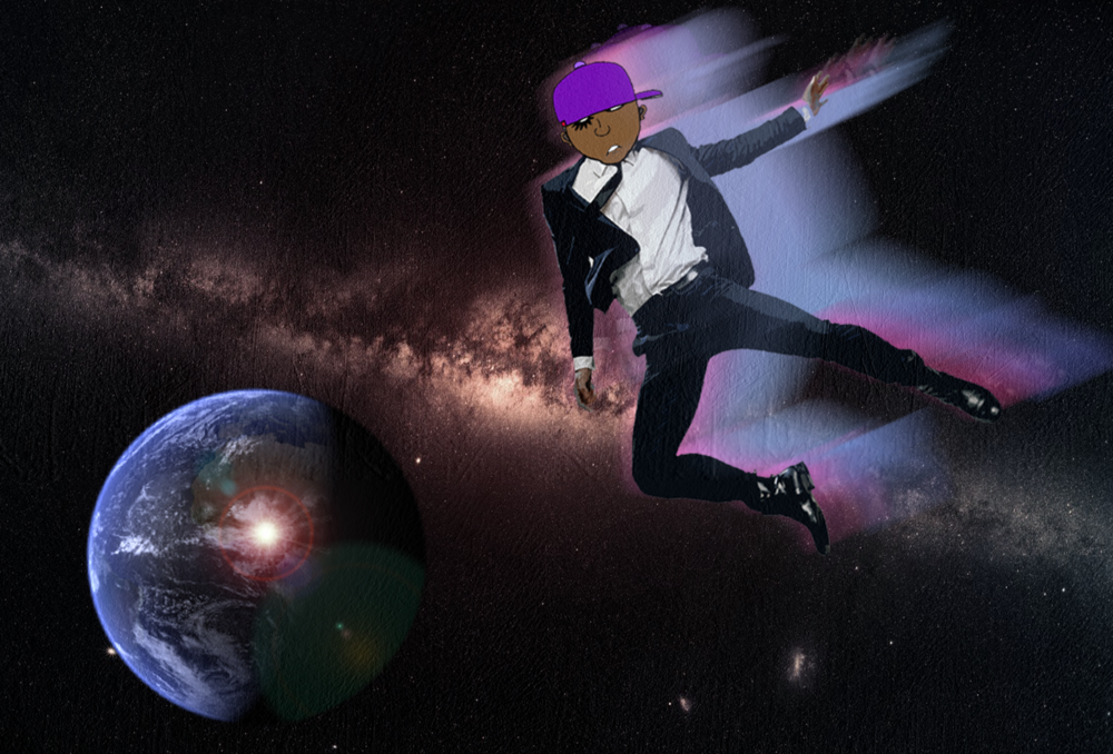 BlackDroog In Orbit with Background.png