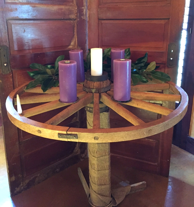 My Church's advent wreath  - church of the apostles montrose