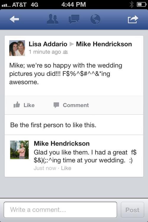 Aerochix wedding