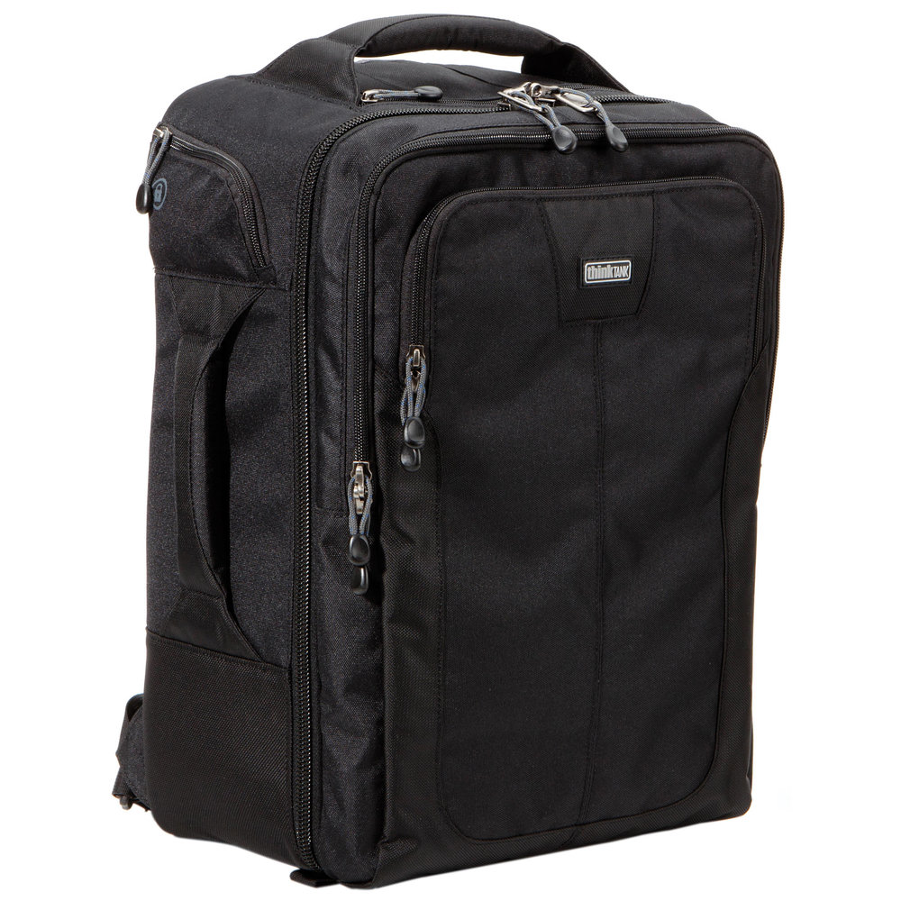 ThinkTank Airport commuter. solid bag that fits enough gear for a wedding