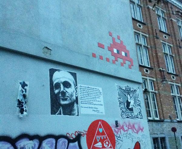 8Bit art (Brussels)
