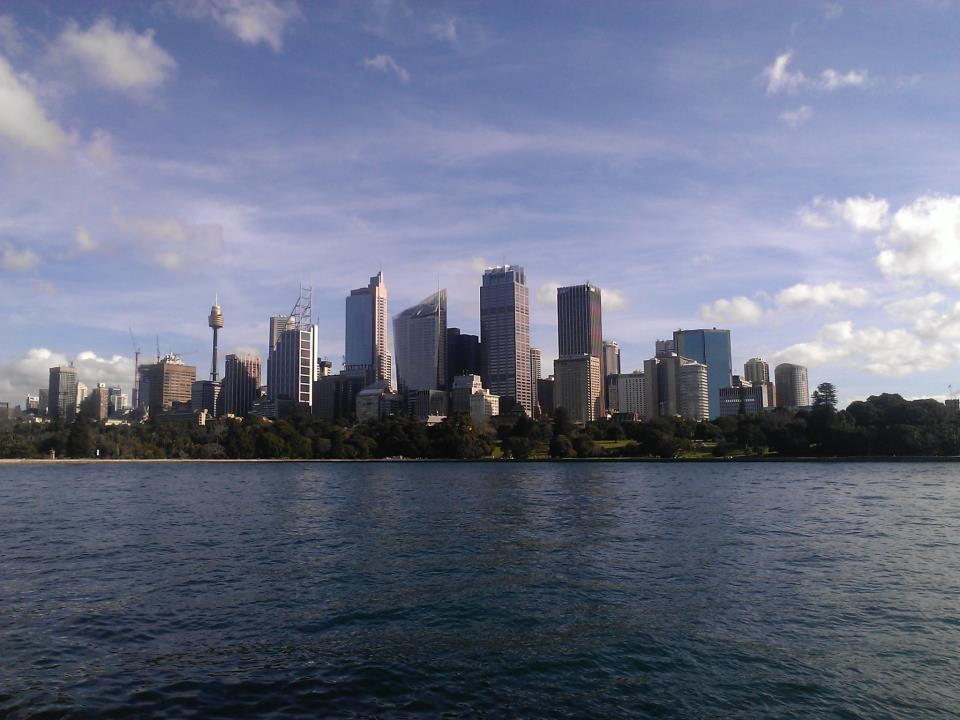 An overall view of Sydney