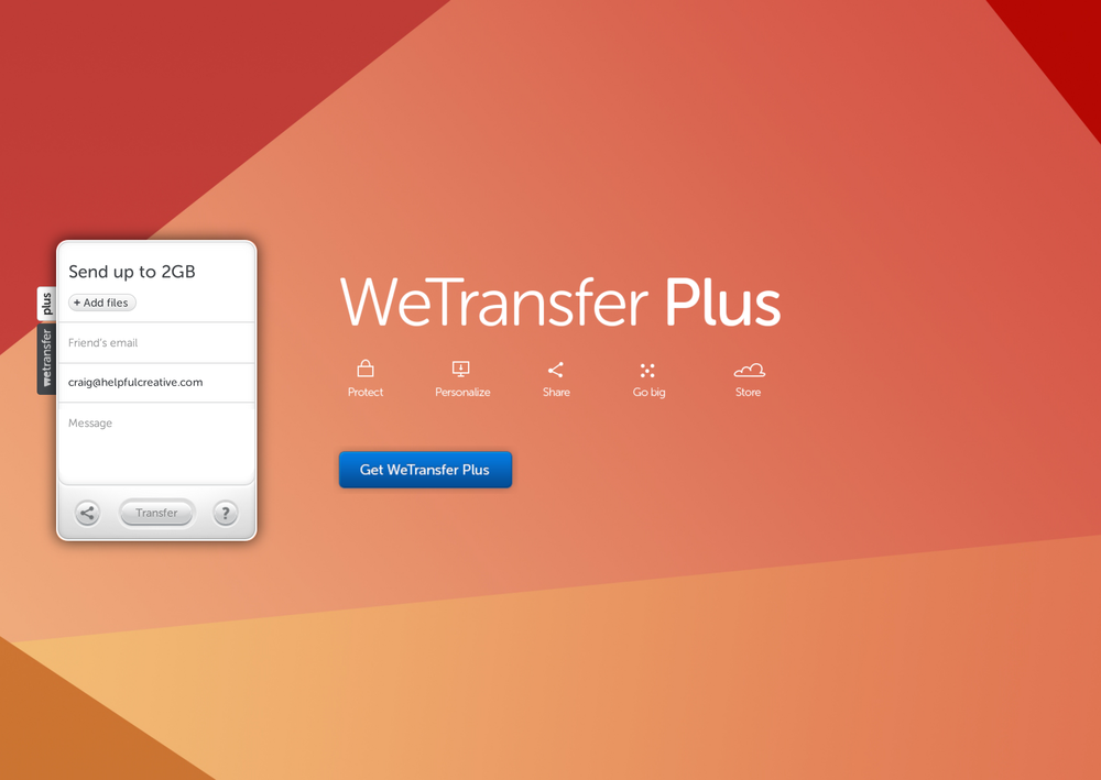 WeTransfer is based in Amsterdam.