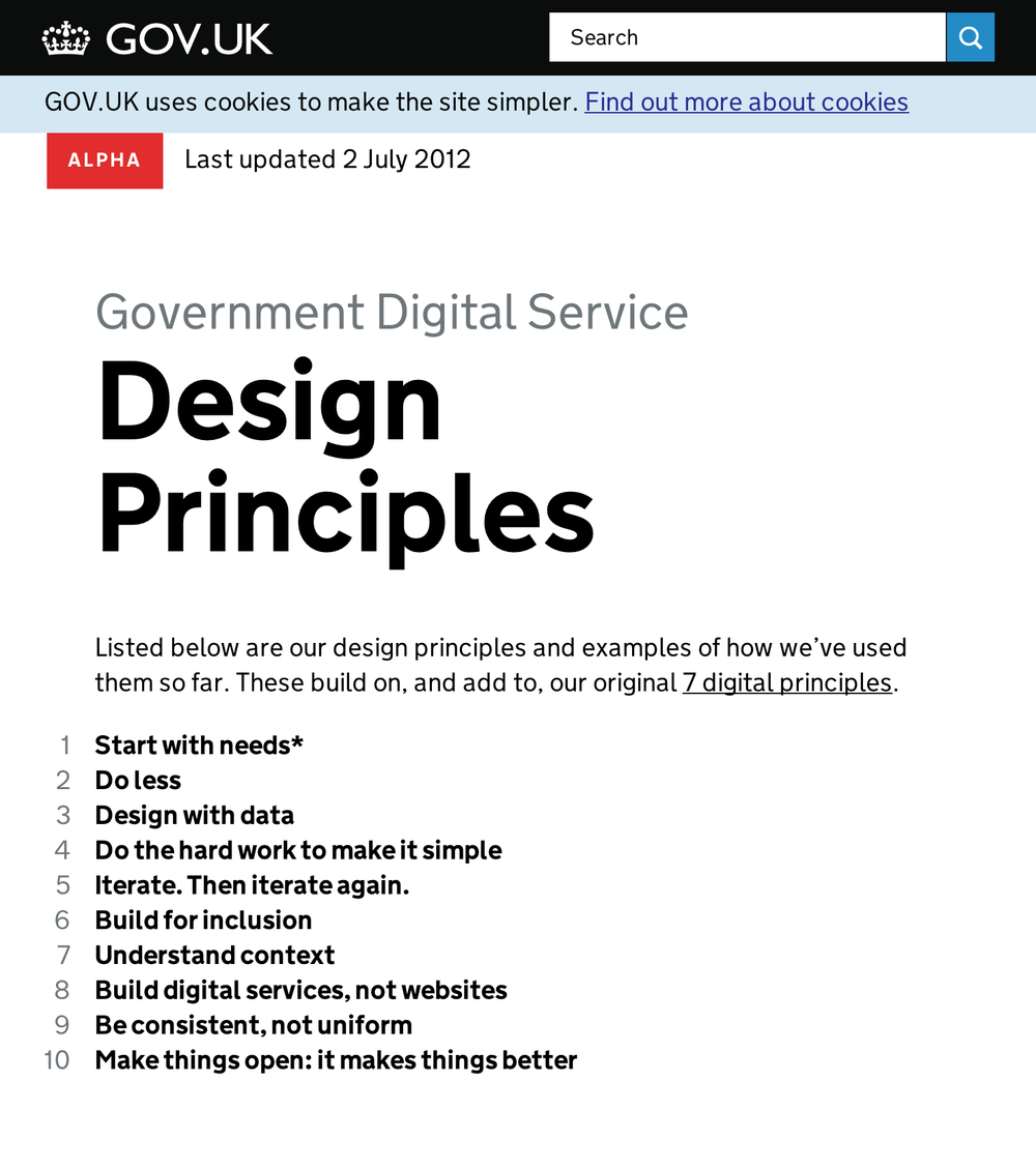https://www.gov.uk/designprinciples