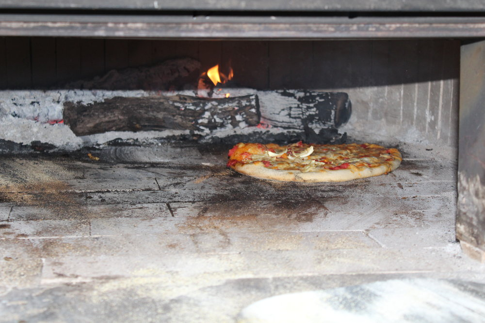Pizza in the oven.JPG