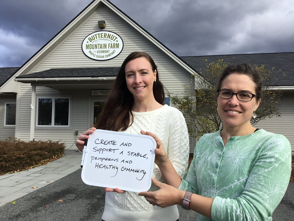Lamoille Housing Partnership and Butternut Mountain Farm team up for #GivingTuesday