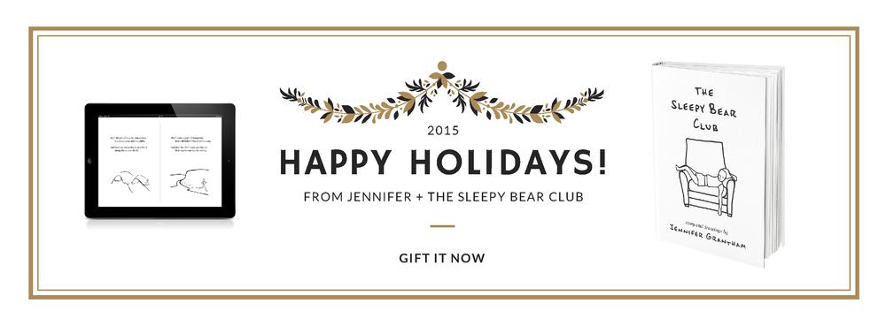 Happy Holidays from The Sleepy Bear Club