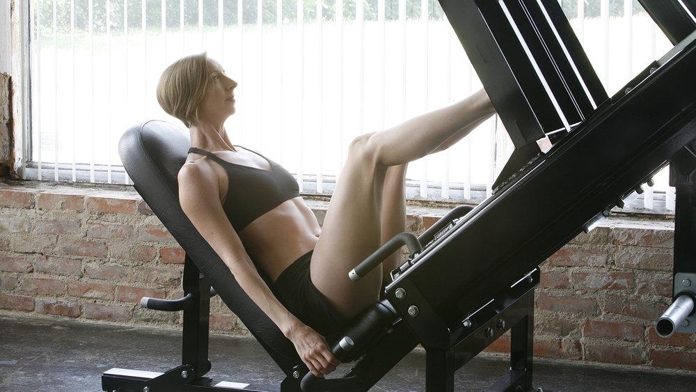 jennifer grantham exercise skills leg press