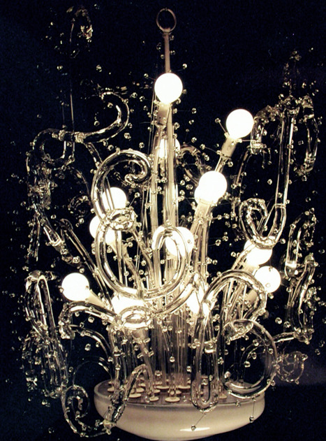 Borosilica Chandelier,  Let There Be Light