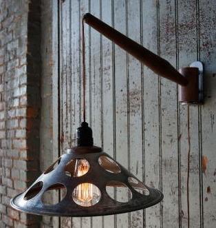 Industrial Swivel lamp