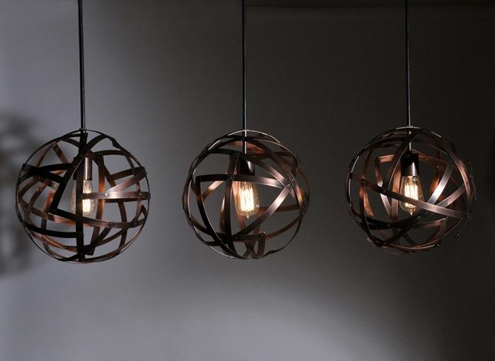 Copper.Bronze.Steel. Pendants