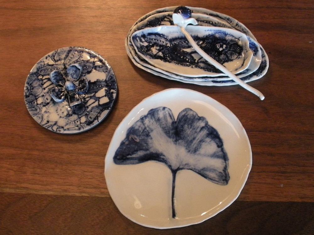 Porcelain Sushi Shards