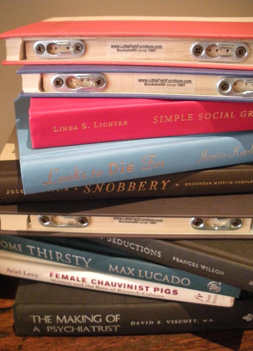 Recycled Book-Bookshelves