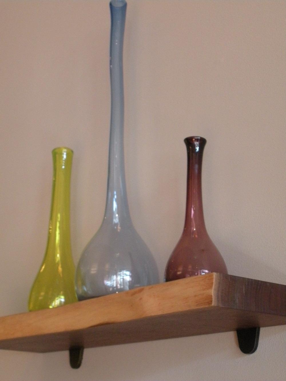 Hand Blown Glass Vases