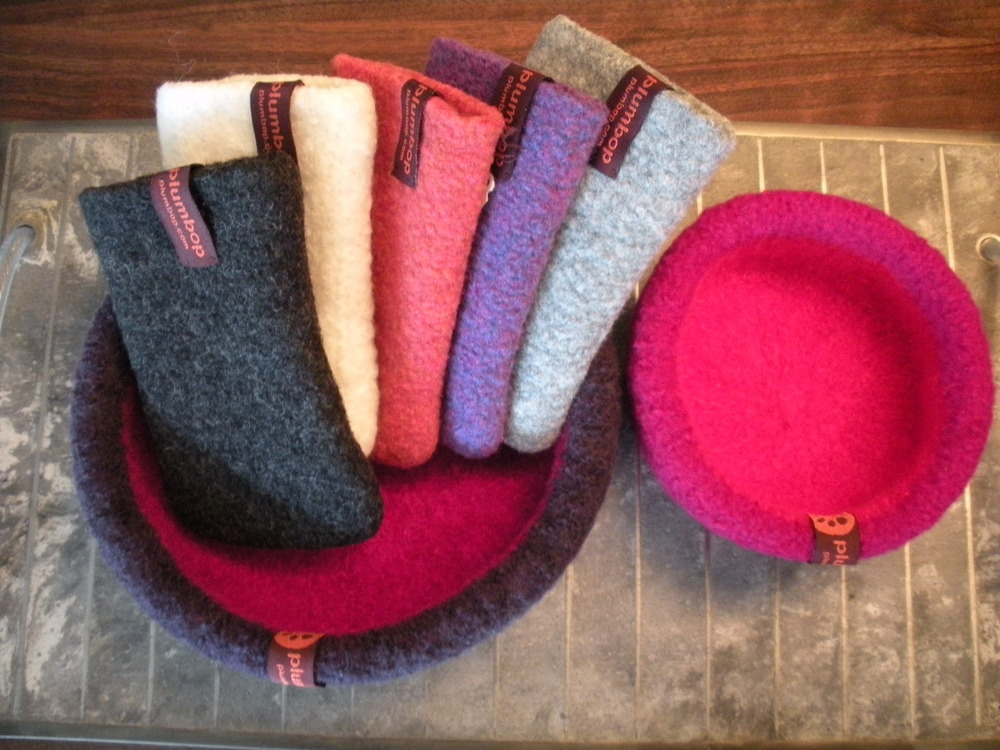 Assorted Hot Water Felted iPhone Cases