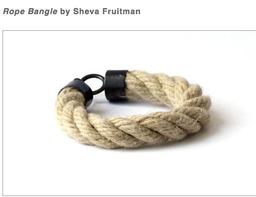 rope bangle